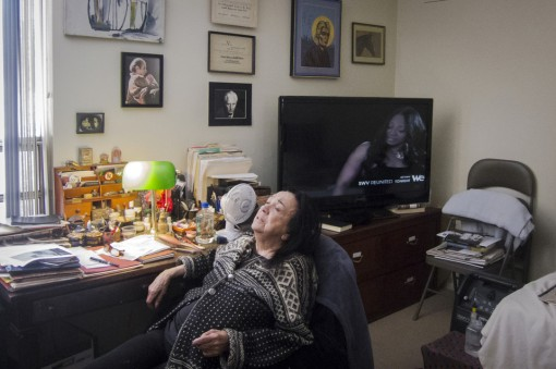 Judith Malina sat back in her room at the Lillian Booth Actors Home in Englewood, N.J.